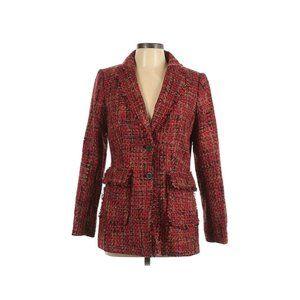 New Karl Lagerfeld Paris Blazer Tweed Jacket